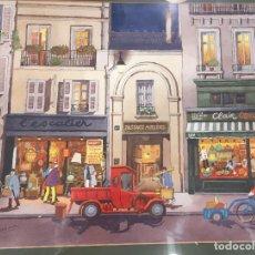 Arte: ACUARELA DE EMILI HIERRO - CALLE DE PARIS 1989. Lote 64465875