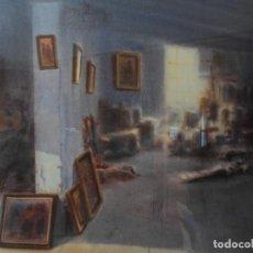 Arte: ACUARELA GRANDE DEL ARTISTA GÓMEZ SACANELLES. Lote 64584083