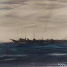 Arte: CUADRO PINTURA ORIGINAL - . FIRMADO G. CASTELLANOS 1973. Lote 67314629