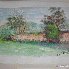 Arte: ACUARELA PERE COLOMER AÑO 1981. Lote 67443225