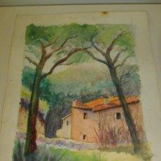 Arte: BALDRICH NAVARRO, ACUARELA ORIGINAL FIRMADA. Lote 67443497
