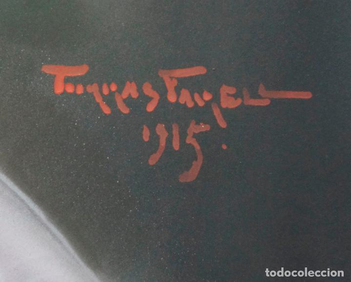 Arte: LLUÍS TORRAS FARELL,1915. FIRMADO. TAMAÑO 44X56CM. - Foto 4 - 67483473