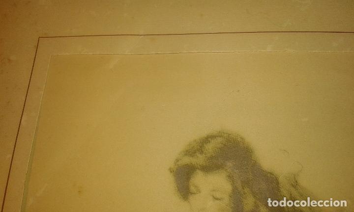 Arte: Bailarina. Firmado Gisbert Soler. Fechado 1945. - Foto 6 - 68855497