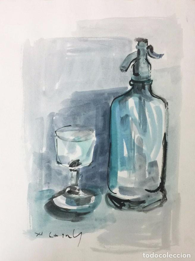 AMADEU CASALS (1930-2010) (Arte - Acuarelas - Contemporáneas siglo XX)