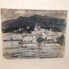 Arte: ACUARELA. RAFAEL DURANCAMPS I FOLGUERA (1891-1979). Lote 70412069