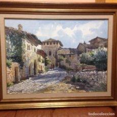 Arte: VICENTE PASTOR CALPENA(1918-1993) ACUARELA. Lote 70416825