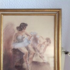 Arte: BAILARINAS DE MONTSERRAT BARTA. Lote 71235669