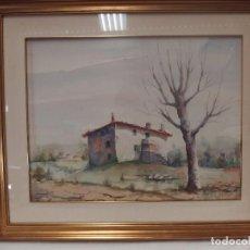 Arte: URRUELA SALAZAR, ACUARELA. Lote 71618559