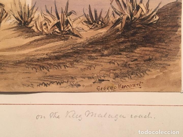 Arte: George Harcourt (1869-1947). Romanticismo. Sg. XIX. Vélez Málaga. - Foto 3 - 71667827