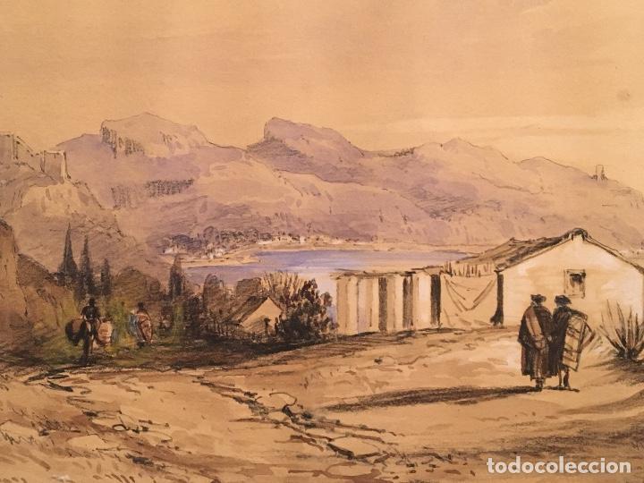 Arte: George Harcourt (1869-1947). Romanticismo. Sg. XIX. Vélez Málaga. - Foto 4 - 71667827