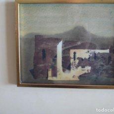 Arte: EBERHARD SCHLOTTER - PAISAJE DEL TIEMPO. TINTAS Y ACUARELA. Lote 71823563