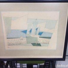 Arte: LYONEL FEININGER-BLUE SAID. Lote 72258071