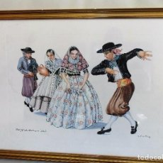 Arte: L. ARMSTRONG TRAJE TIPICO REGIONAL DE MALLORCA. Lote 72300179