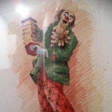 Arte: GRAN PINTOR DE OLOT ASIGNA BARALDEZ PAYASO. Lote 73804563