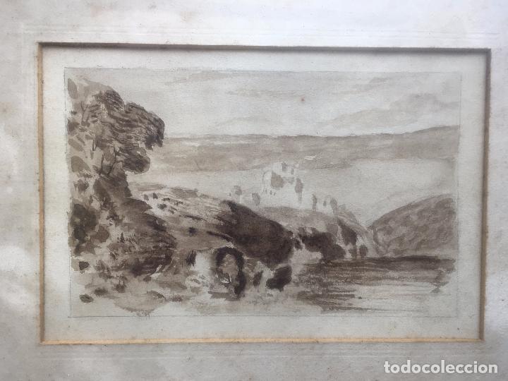 Arte: Acuarela firmada Gallegos (incluye otra acuarela de regalo) - Foto 3 - 150140789