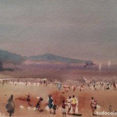 Arte: ACUARELA DEL PINTOR JULIO QUESADA (1918-2009). Lote 74863663