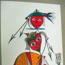 Arte: ACUARELA ORIGINAL DEL PINTOR ALEMAN W.R.REITER. Lote 75058183