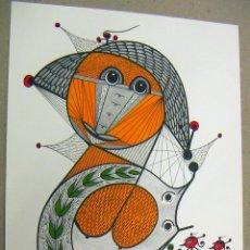 Art: ACUARELA ORIGINAL DEL PINTOR ALEMAN W.R.REITER. Lote 75058311