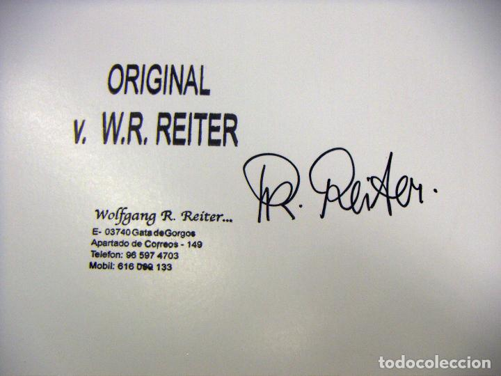 Arte: Acuarela original del pintor Aleman W.R.Reiter - Foto 6 - 75058311