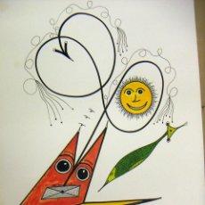 Arte: ACUARELA ORIGINAL DEL PINTOR ALEMAN W.R.REITER. Lote 75058443