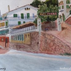 Arte: VILA MALERAS, JOAN NACIO 1888-? PINTOR DE SABADELL. Lote 75606263