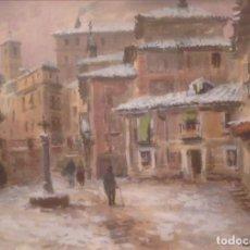 Arte: ACUARELA DE VICENTE PASTOR CALPENA (1918-1993). Lote 76006079