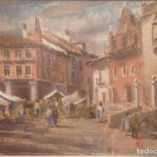 Arte: ACUARELA DE VICENTE PASTOR CALPENA (1918-1993). Lote 76006451