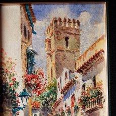 Arte: 2X (PAREJA) - MAXI HUERTAS ( 1950'S ) - SEVILLA, BARRIO DE SANTA CRUZ. Lote 76207579