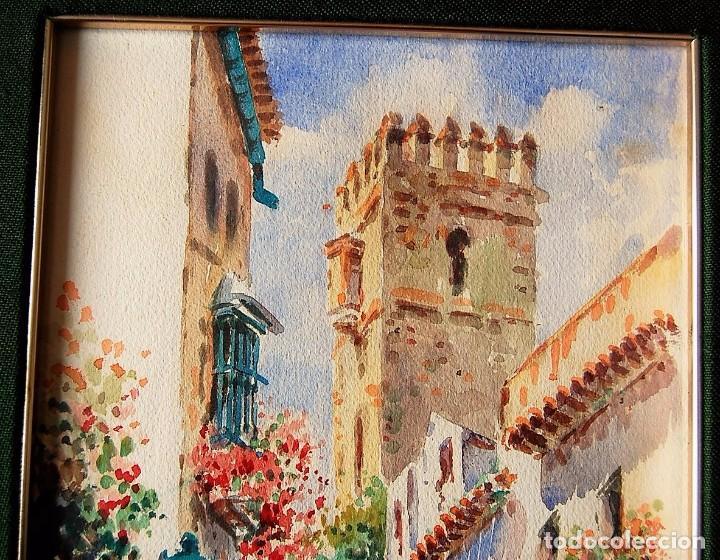 Arte: 2x (pareja) - MAXI HUERTAS ( 1950s ) - Sevilla, Barrio de Santa Cruz - Foto 3 - 76207579