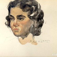 Arte: CARLES BÉCQUER DOMÍNGUEZ. PINTOR Y DIBUJANTE NACIDO EN BARCELONA (1889-1968). Lote 77411333