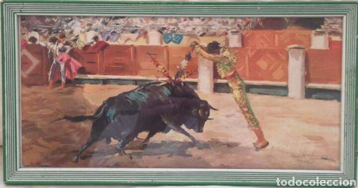 Arte: Dos Antiguas Litigrafias De Antonio Casero. - Foto 2 - 78073637