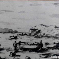 Arte: SANGINA DE LLANSÁ (GIRONA) POR FORNELLS VILA. PINTOR DEL SEGUNDO CUARTO DEL SIGLO XX, DE GERONA.. Lote 78171609
