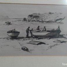 Arte: SANGINA DE LLANSÁ (GIRONA) POR FORNELLS VILA. PINTOR DEL SEGUNDO CUARTO DEL SIGLO XX, DE GERONA.. Lote 78171805