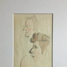 Arte: INTERESANTES APUNTES ORIGINALES DE GRAN CALIDAD, FIRMADOS Y FECHADOS,1930 ART DECO. Lote 78581253