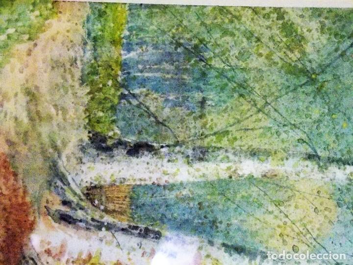 Arte: Antigua acuarela siglo XIX ESCUELA INGLESA 1851 WALTER WITHAM - Foto 5 - 81122976
