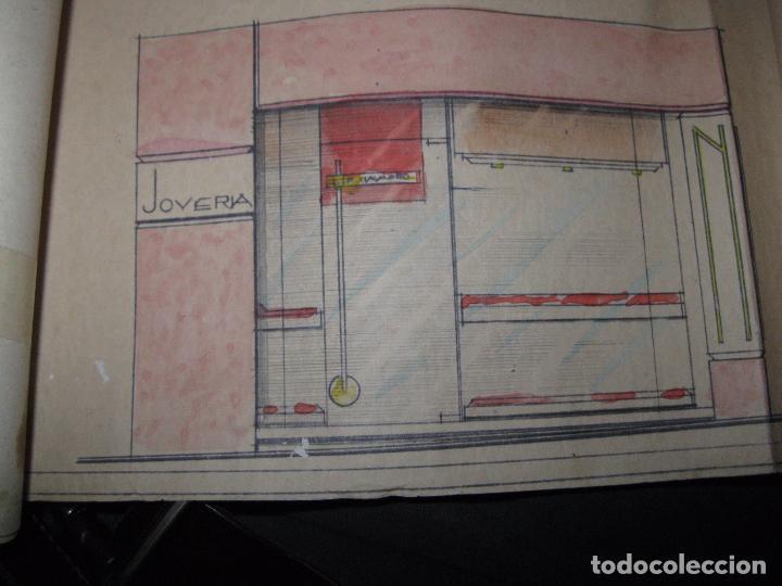 Arte: PLANO calle Castaños Aicante ACUARELA CARTEL ANTIGUO JOYERIA FIRMA F. NAVARRO SORIA - Foto 12 - 26032725