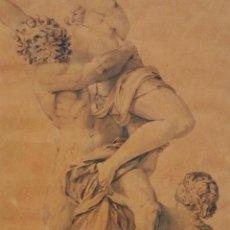 Arte: EXCELENTE ACUARELA ORIGINAL,FIRMADA VICENTE ROSELLO RIBES,SIGLO XVIII BARROCO ESPAÑOL,CALIDAD MUSEO. Lote 81947212