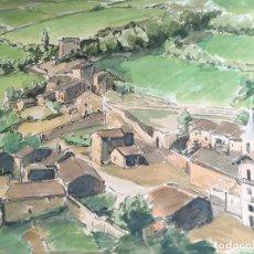 Arte: ACUARELA ORIGINAL JAUME CARBONELL CASTELL,,, (BARCELONA, 1942 - 2010). 1961. Lote 83787208