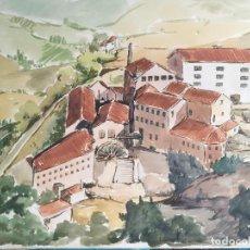 Arte: ACUARELA ORIGINAL JAUME CARBONELL CASTELL,,, (BARCELONA, 1942 - 2010). AÑOS 60 . Lote 83787872