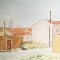 Arte: ACUARELA ORIGINAL JAUME CARBONELL CASTELL,,, (BARCELONA, 1942 - 2010). AÑOS 60. Lote 83789252