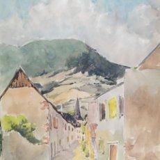 Arte: ACUARELA ORIGINAL JAUME CARBONELL CASTELL,,, (BARCELONA, 1942 - 2010). AÑOS 60. Lote 83789712