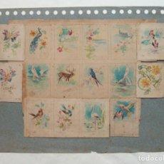 Arte: ILUSTRACIÓN PARA CAJAS DE CERILLAS - PUBLICIDAD AÑOS 30 S.XX - ACUARELA ORIGINAL (MORELL). Lote 84345436