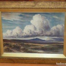 Arte: J. LAWRENCE HART (HARBONE, 1850 - 1907) ACUARELA SOBRE PAPEL. PAISAJE. Lote 85108140