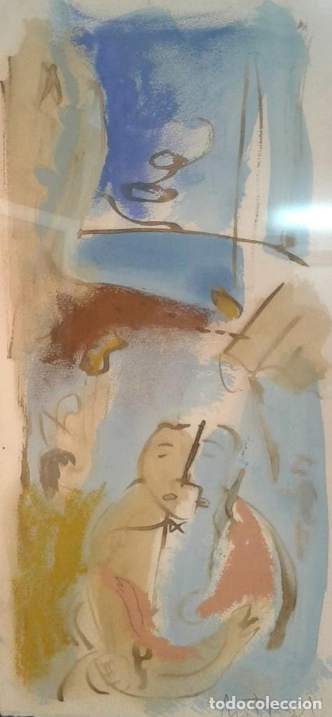 MONTESOL, JAVIER BALLESTER (BARCELONA, 1952) (Arte - Acuarelas - Contemporáneas siglo XX)