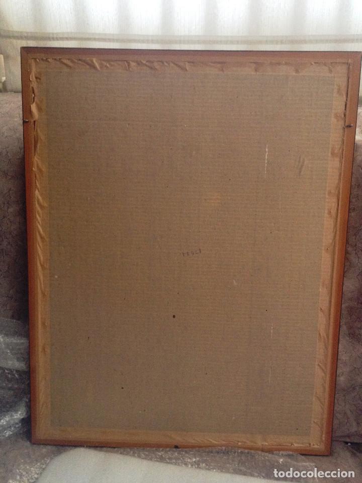 Arte: Acuarelas- Varas amarillo y blanco- firmado- con marco, cristal y paspartuf - Foto 5 - 87351096