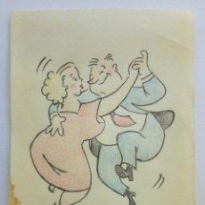 Arte: BONITO BOCETO ORIGINAL, POSIBLEMENTE PARA TBO DE LOS AÑOS 50,60S. Lote 87422472