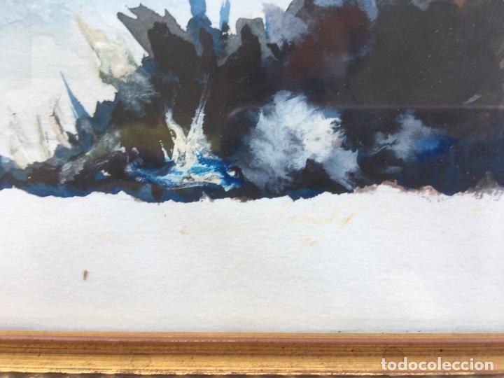 cuadro acuarela sobre tabla artista salcedo mar - Comprar Acuarelas ...