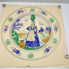 Arte: ORIGINAL ACUARELA DEL PINTOR , DIBUJANTE , GRABADOR CATALAN FRANCESC CANYELLAS BALAGUERO. Lote 90213916