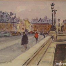 Arte: ACUARELA DE PEPE ANTEQUERA. (PARIS 1998). Lote 90361252