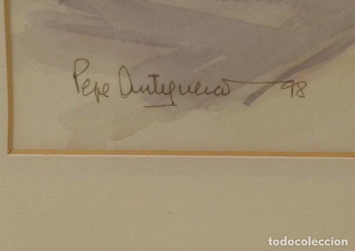Arte: Acuarela de Pepe Antequera. (Paris 1998) - Foto 3 - 90361252